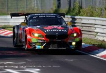 BMW Z4 GT3 at the Nurburgring
