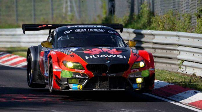 BMW Z4 GT3 at the Nurburgring