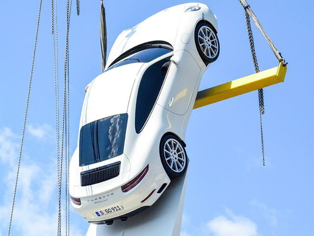 Facelift Porsche 911 snapped