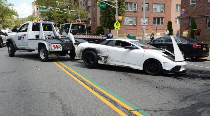 Fake Lamborghini Crash