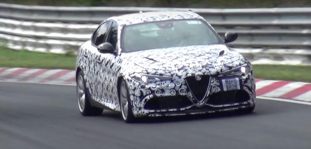 Alfa Romeo Giulia QV nurburgring