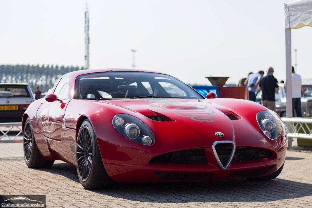 Alfa Romeo TZ3 Corsa by Zagato front view