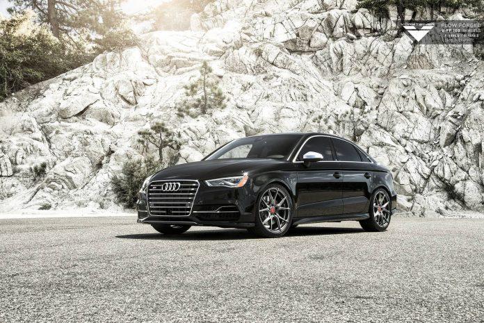 Black Audi S3