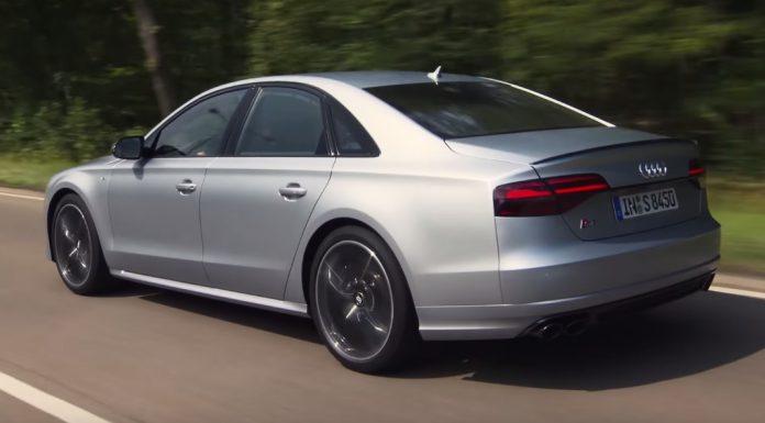 Audi S8 Plus trailer