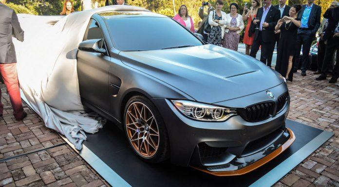 Monterey 2015 BMW M4 GTS Concept