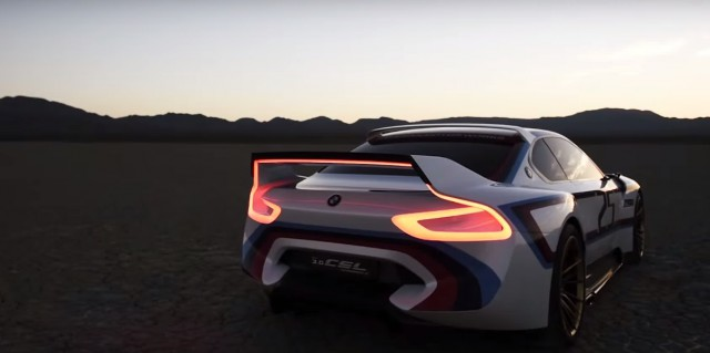 BMW 3.0 CSL Hommage R Concept video