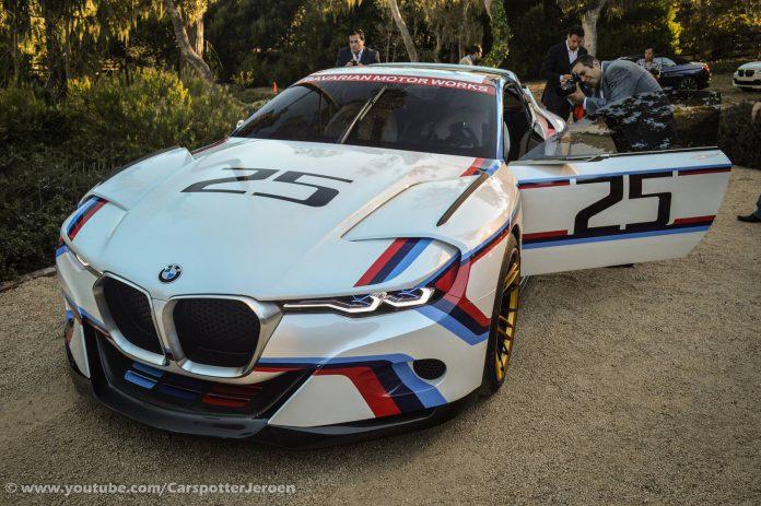 Monterey 2015 BMW 3.0 CSL Hommage R