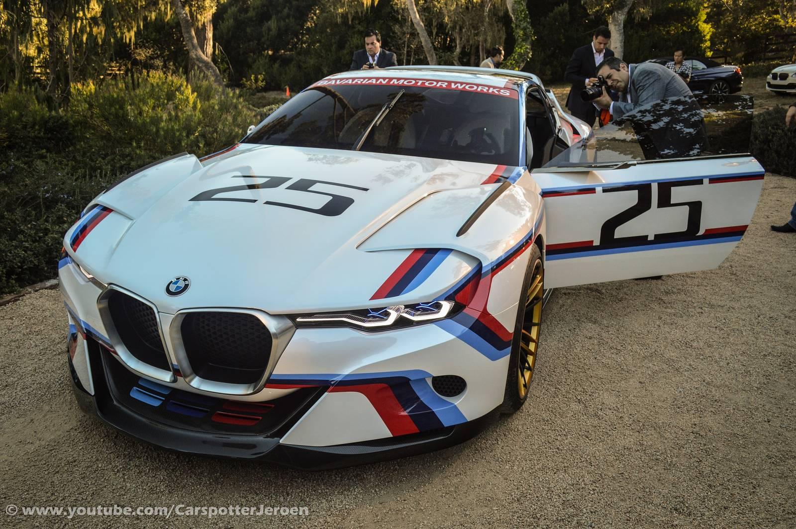 BMW Convertible 2015 bmw m4 white Monterey 2015: BMW Concept M4 GTS and 3.0 CSL Hommage R - GTspirit