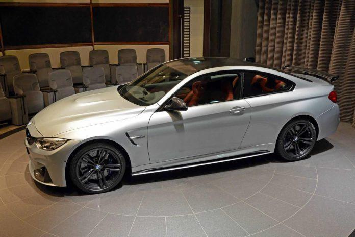 Unique BMW M4 in Abu Dhabi