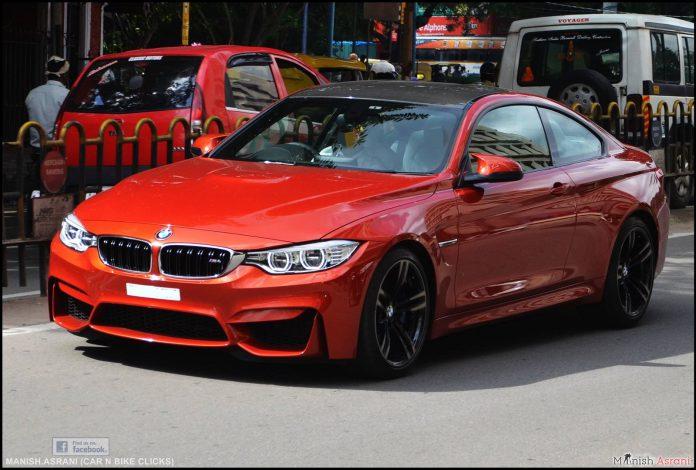BMW M4 Bangalore Red
