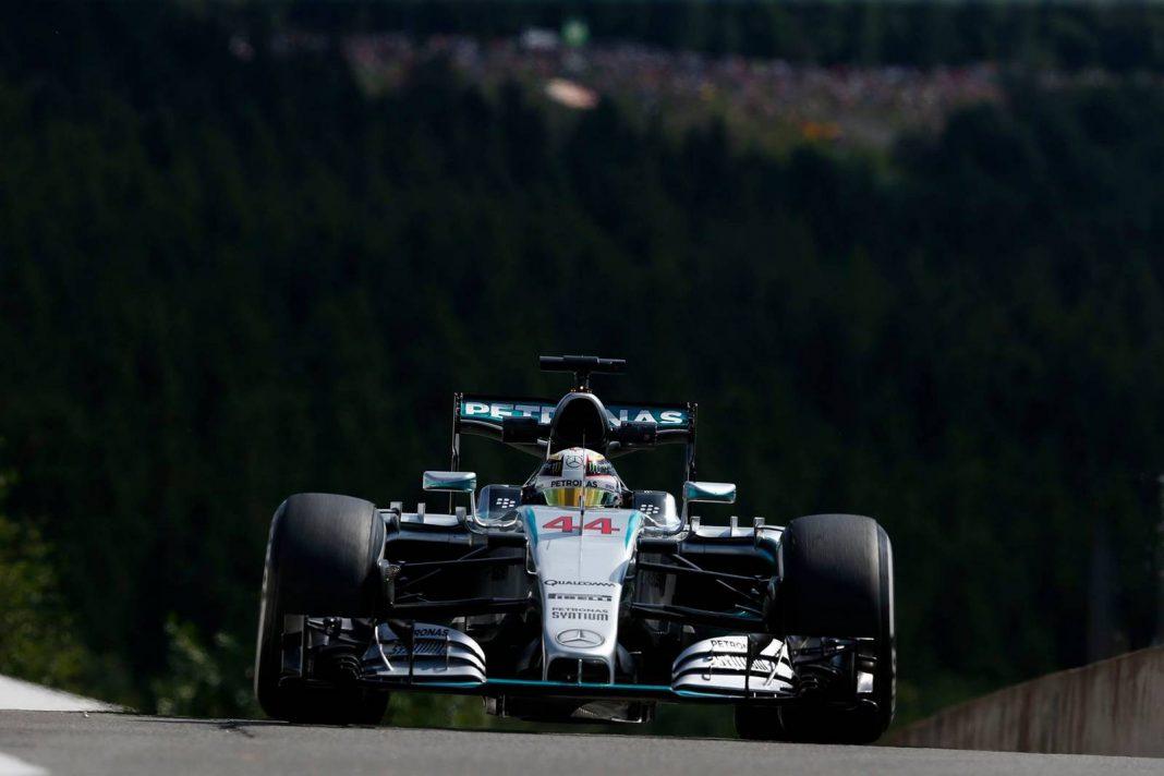 Lewis Hamilton Belgian GP 2015 Formula 1