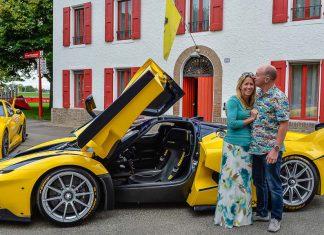 Benjamin Sloss Ferrari LaFerrari FXX K