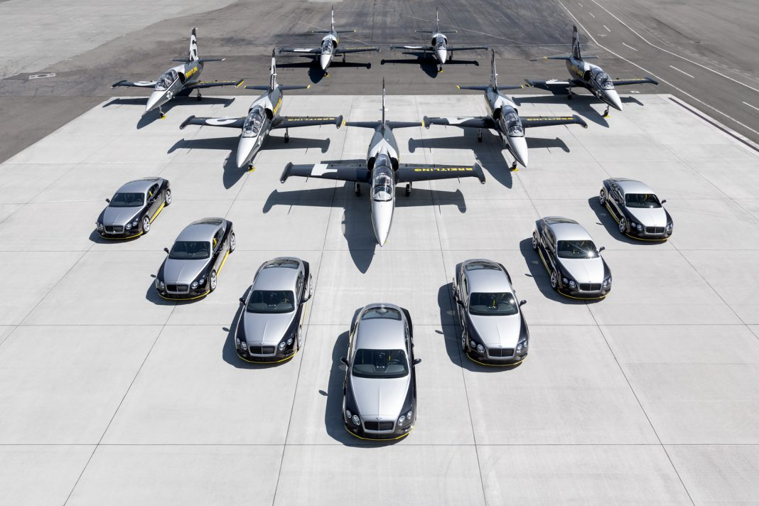 Bentley Continental GT Speed Breitling Jet Team Series Delivered to customers