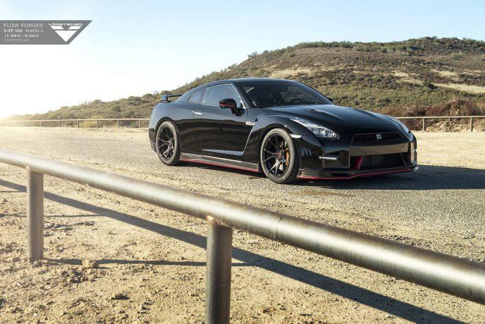 Black on Black Nissan GT-R
