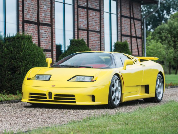 Bugatti EB110 Super Sport to be Auctioned at RM Sotheby's in London