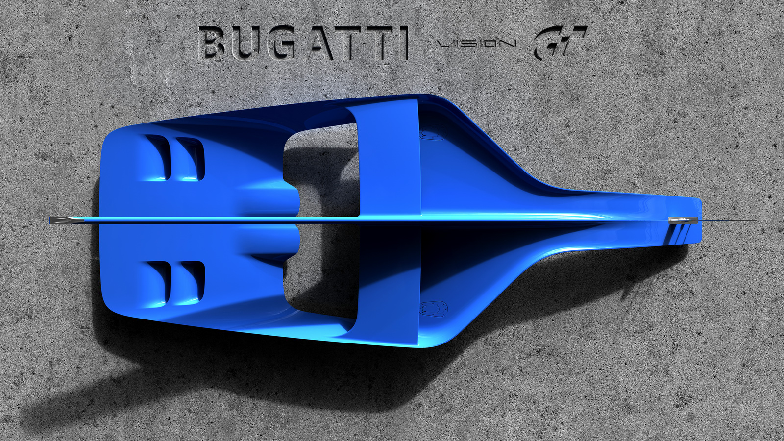 bugatti officially teases vision gran turismo concept - gtspirit