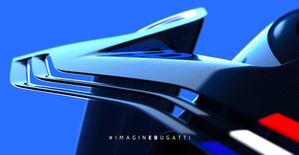 Bugatti Vision Gran Turismo teaser 1