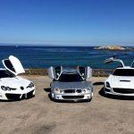Mercedes-Benz SLR McLaren, CLK GTR, SLS AMG