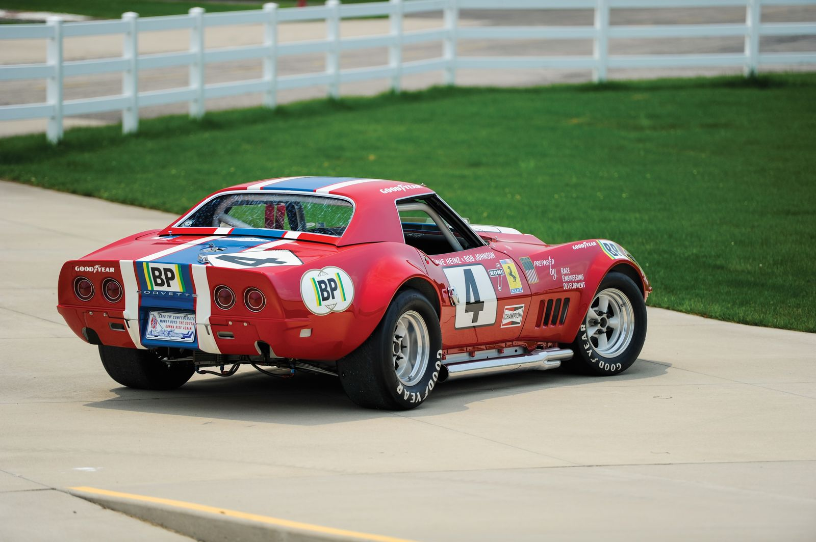 Chevrolet Corvette L88 Red Nart Le Mans To Be Sold By Rm