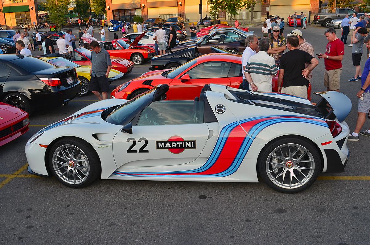 Porsche 918 Spyder Weissach Edition In Calgary Gtspirit