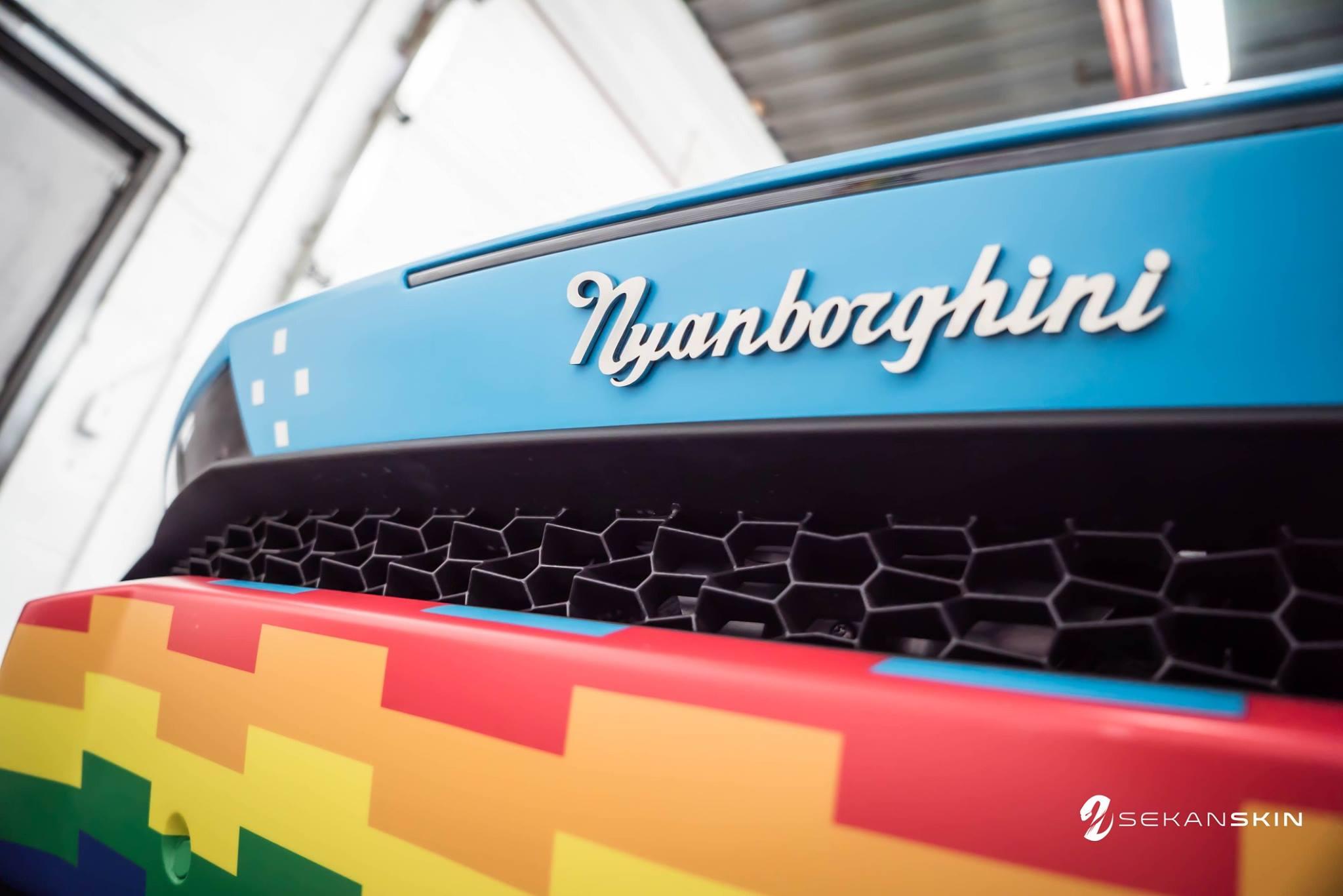"More Photos of Deadmau5's New Lamborghini ""Purracan"""