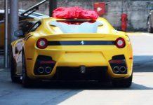 Ferrari F12 Versione Speciale spy shot