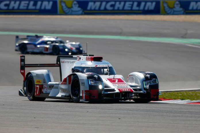 FIA WEC 6 Hours of Nurburgring Audi R18 e-tron