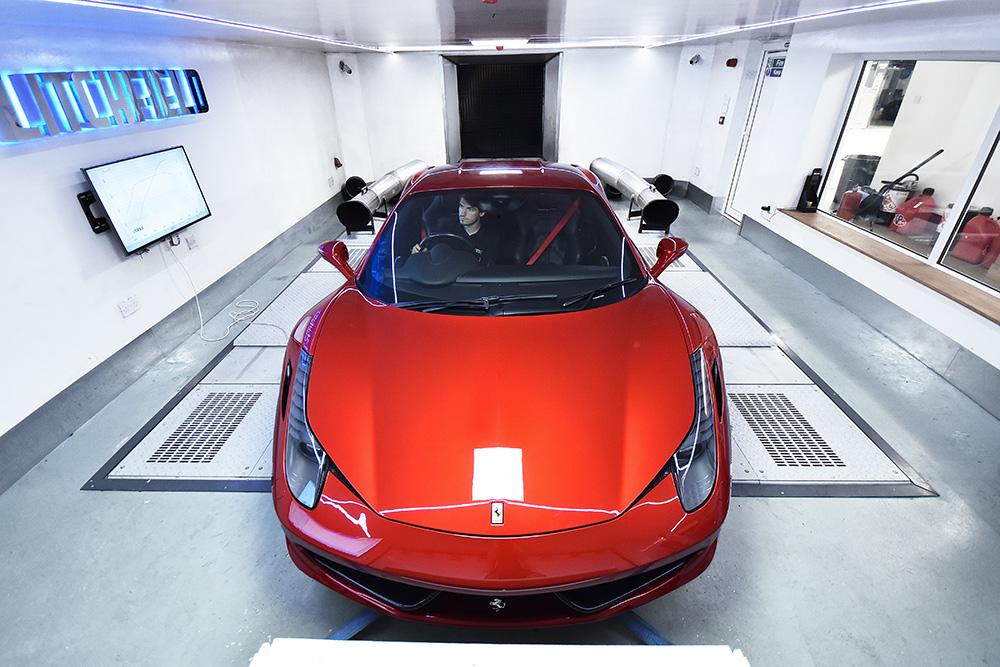 Litchfield Reveals New Ferrari 458 Performance Package