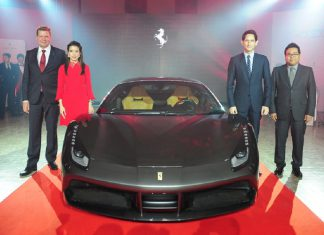 Ferrari 488 GTB Launch Thailand 3