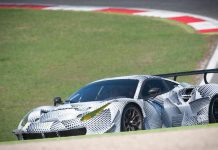 Ferrari 488 GTE spied testing