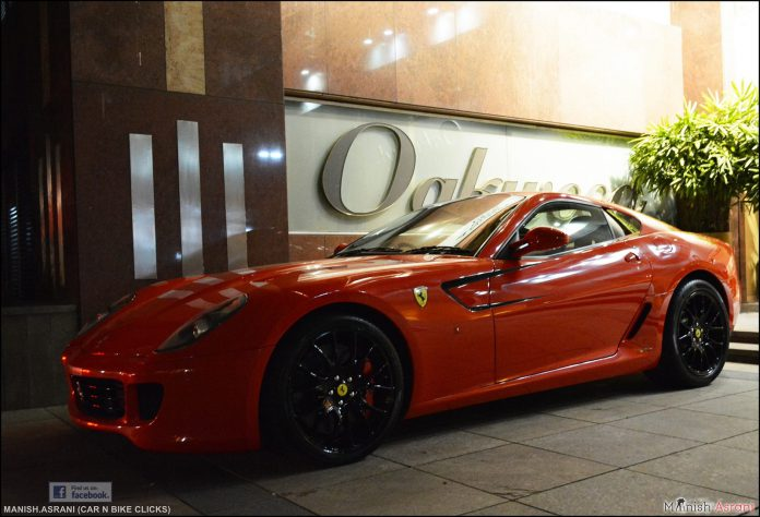 Ferrari 599 GTB Bangalore Red