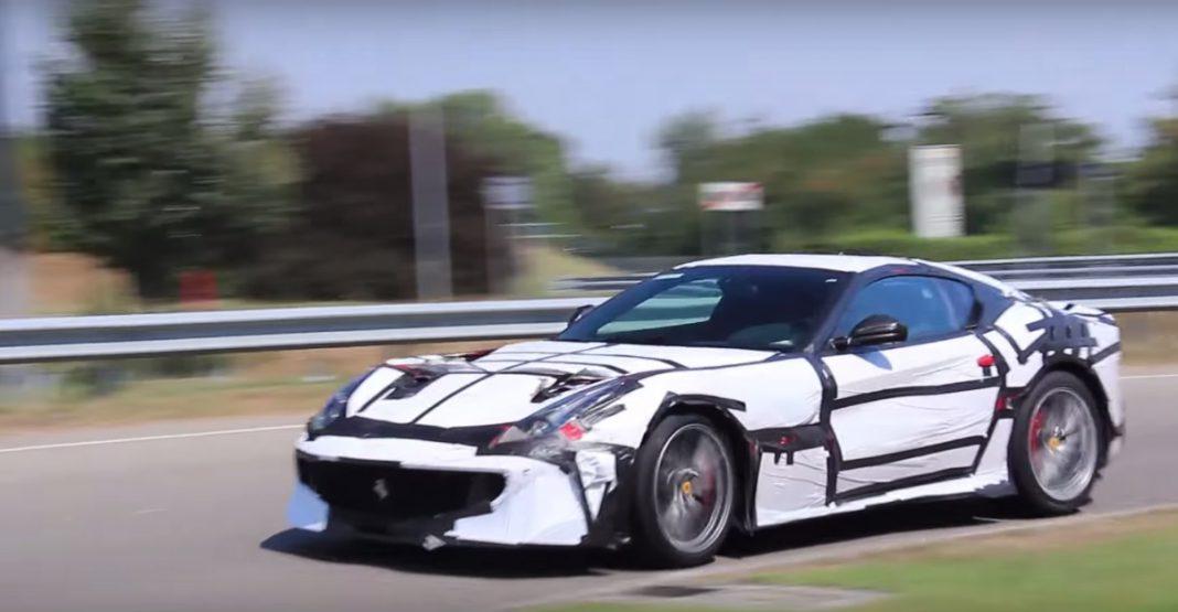 Ferrari F12 Versione Speciale filmed in Italy