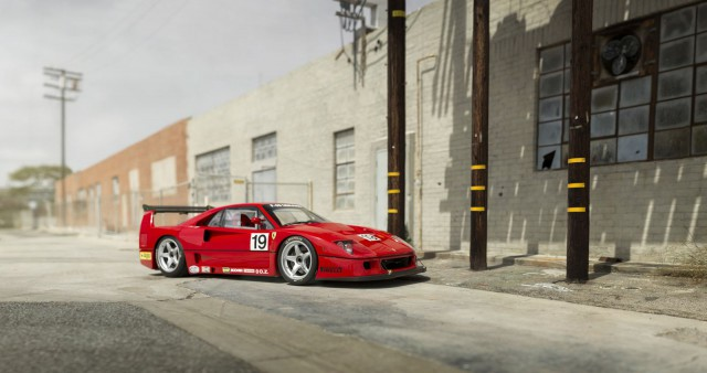 Ferrari F40 LM auction