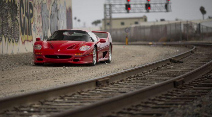 Ferrari F50 auction