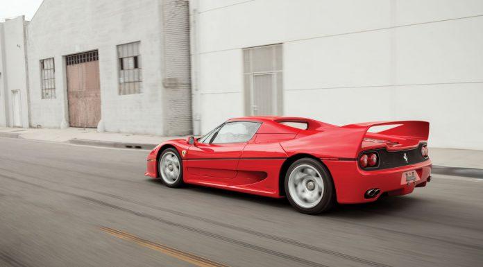 Ferrari F50 auction1