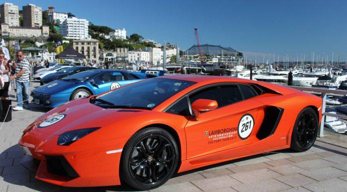 Supercar Weekend in Torquay Lamborghini Aventador