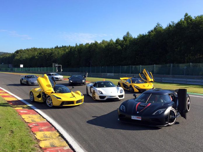 Vijverberg Trophy Hypercar Meet at Spa Francorchamps