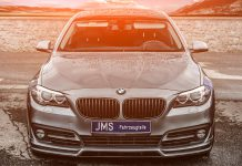 JMS BMW 5-Series front