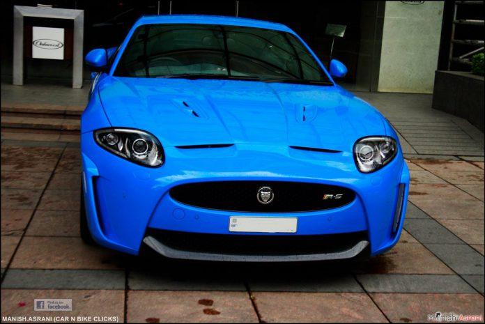 Jaguar XKR-S Bangalore Blue