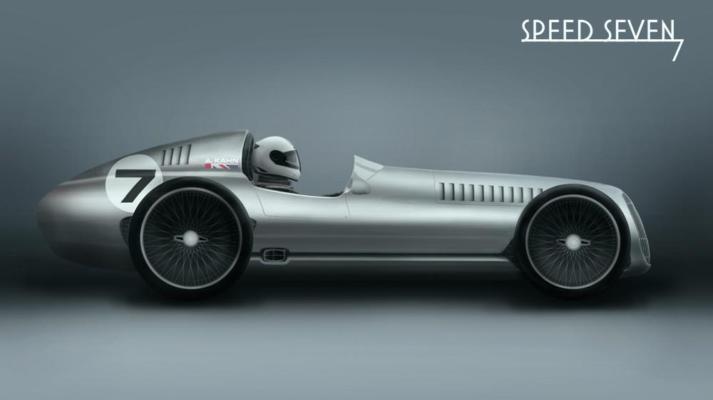 Kahn Design Speed 7 side