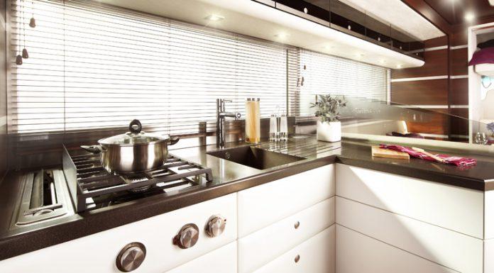 Ketterer Continental Motorhome interior kitchen