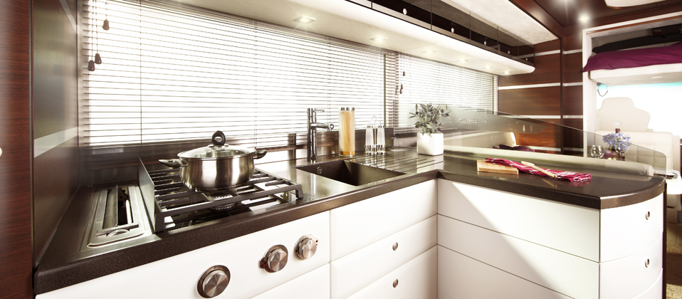 Ketterer Continental Motorhome Has Room For Your Smart Car