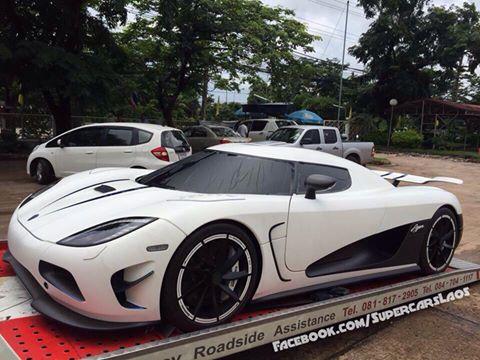 Koenigsegg Agera R White