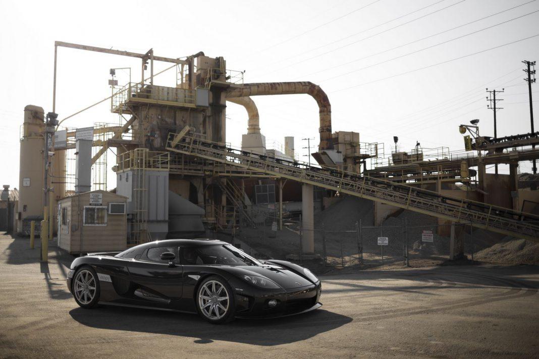 Koenigsegg CCXR auction front