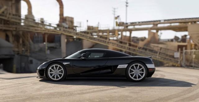 Koenigsegg CCXR auction side