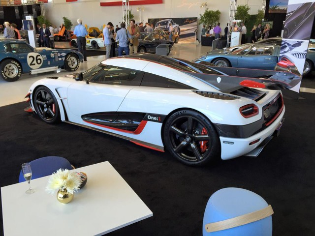 Final Koenigsegg One:1 Joins Monterey Car Week Party