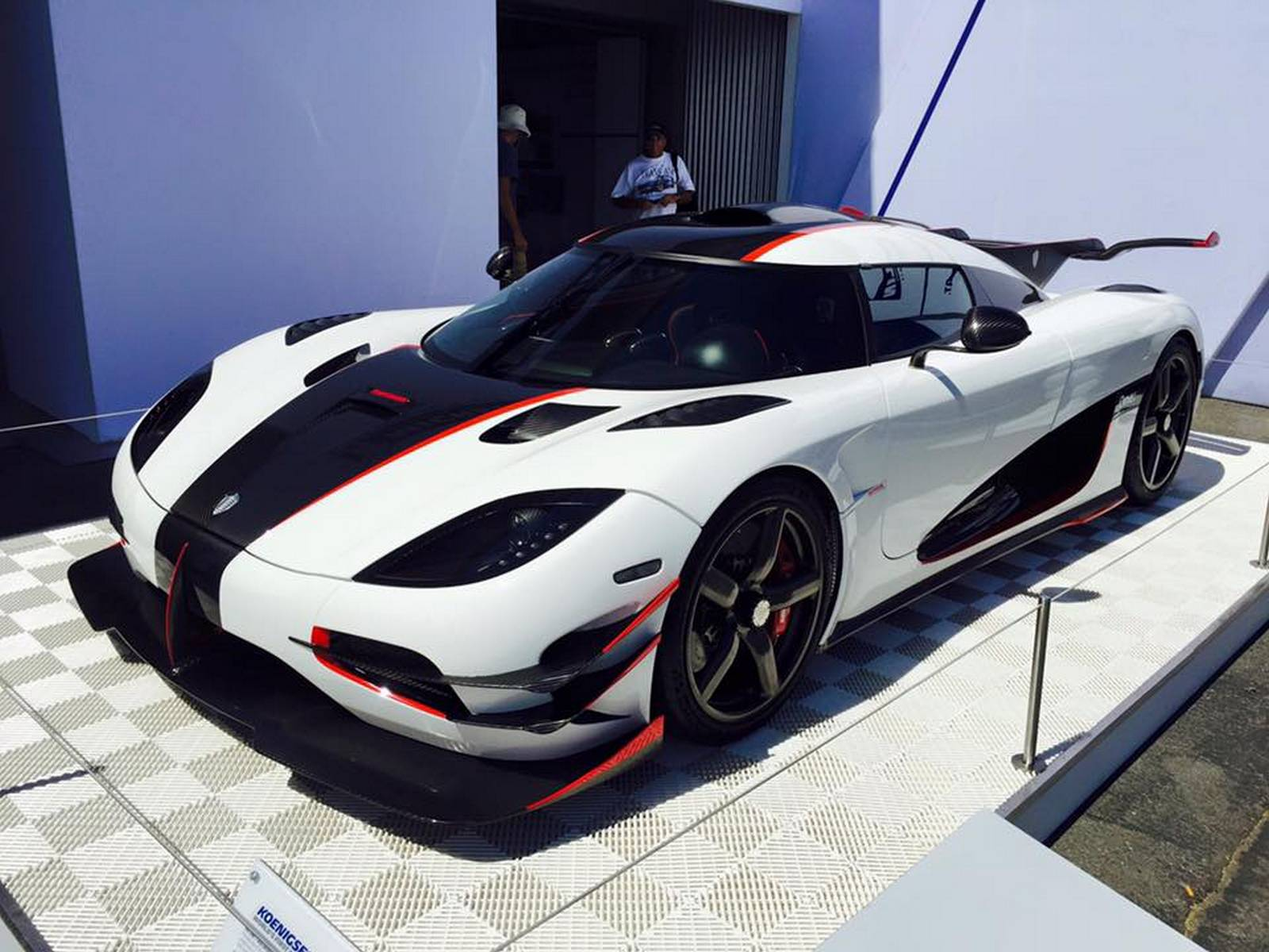 Monterey 2015 The Final Koenigsegg e 1 GTspirit
