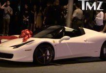Kylie Jenner Ferrari 458 Spider