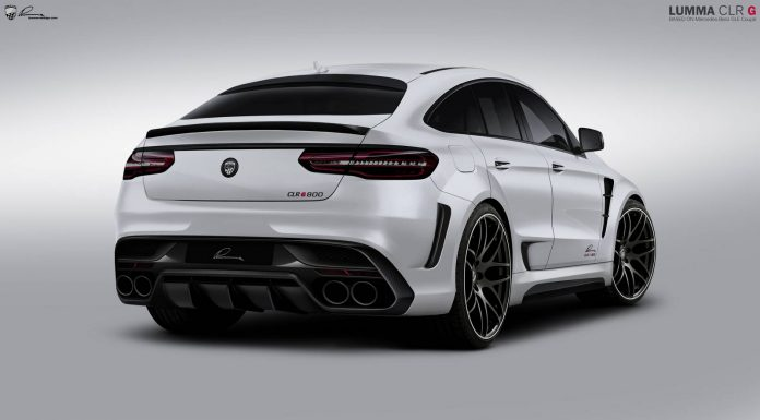 Official: Lumma CLR G800 Mercedes-AMG GLE 63 Coupe