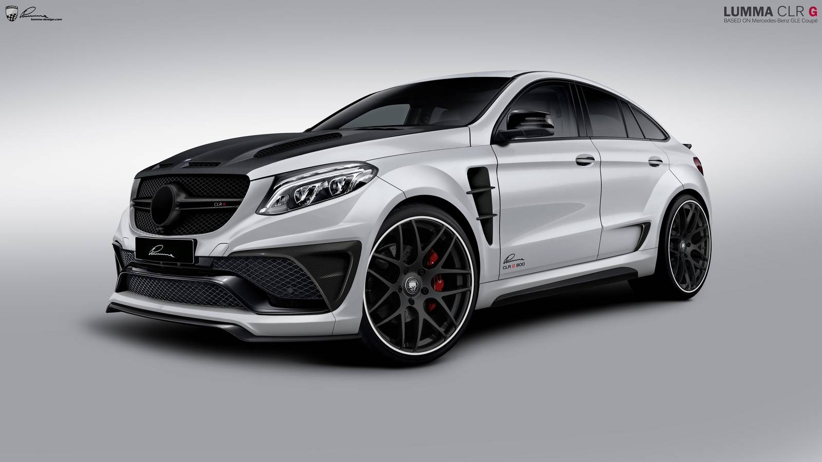 Official lumma clr g800 mercedes amg gle63 coupe gtspirit for Mercedes benz amg kit